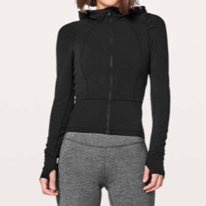 Lululemon Move With Ease Jacket black size 6